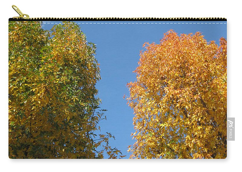 Autumn Carry-all Pouch featuring the photograph Equinox by James Barnes