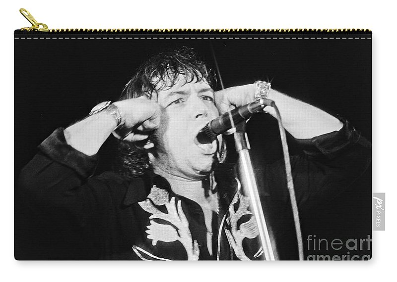 Dutch Carry-all Pouch featuring the photograph Eric Burdon In Concert-1 by Casper Cammeraat