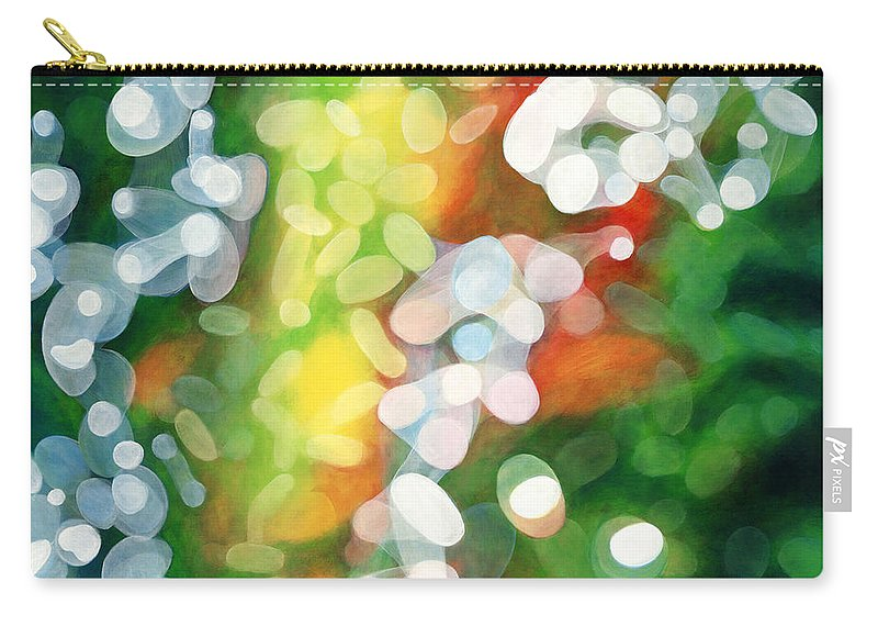 Queen Carry-all Pouch featuring the painting Eriu Queen of the Emerald Isle by Antony Galbraith
