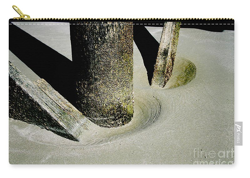 Carry-all Pouch featuring the photograph Erosion by Jamie Lynn