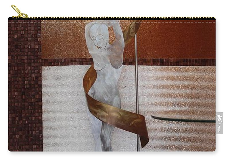 Statue Carry-all Pouch featuring the photograph Erotic Museum Piece by Rob Hans
