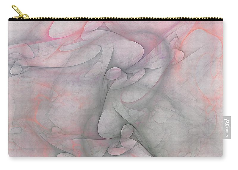 Digital Painting Carry-all Pouch featuring the digital art Erotica by David Lane