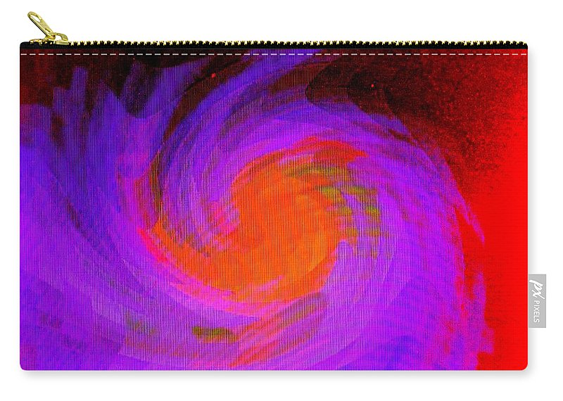 Abstract Carry-all Pouch featuring the digital art Escape by Ian MacDonald