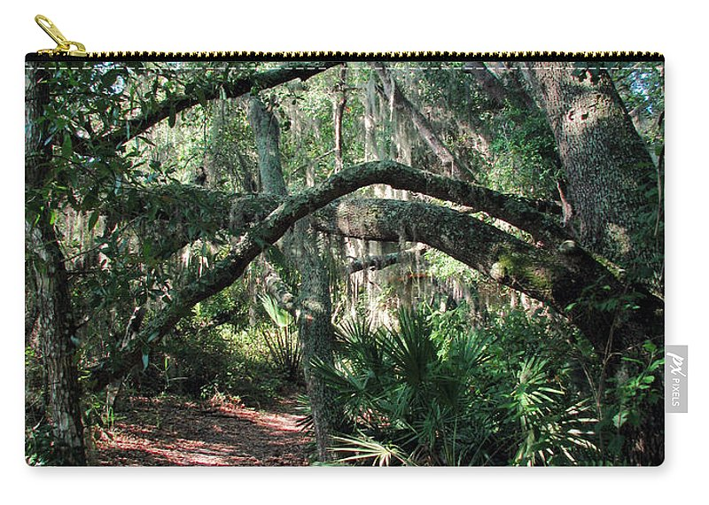 Nature Carry-all Pouch featuring the photograph Escape by Peg Urban