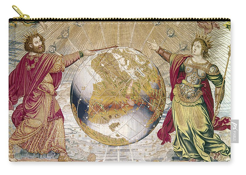 16th Century Carry-all Pouch featuring the photograph Escorial: Tapestry by Granger