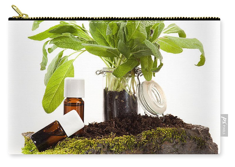 Ethereal Carry-all Pouch featuring the photograph Essential Oil Of Sale by Wolfgang Steiner