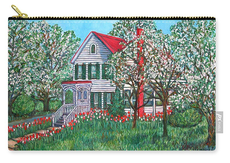 Home Carry-all Pouch featuring the painting Esther's Home by Kendall Kessler