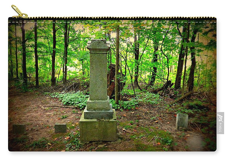 Cemetery Carry-all Pouch featuring the photograph Eternal Resting Place by Scott Ward