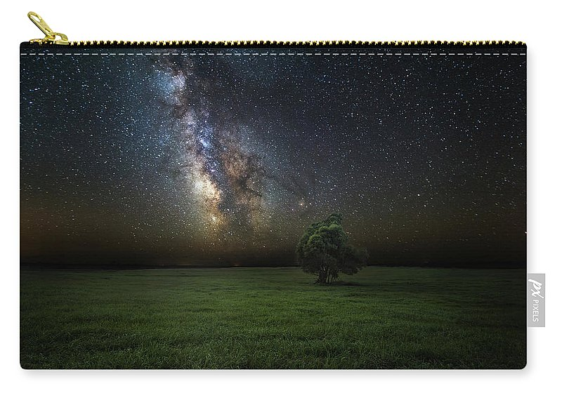 Milky Way Carry-all Pouch featuring the photograph Eternity by Aaron J Groen