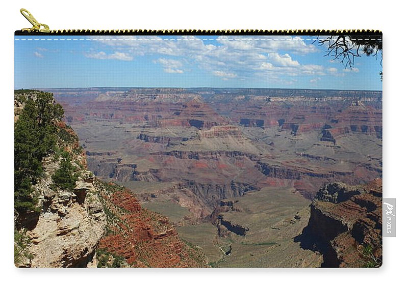 Grand Canyon Carry-all Pouch featuring the photograph Eternity by Christiane Schulze Art And Photography