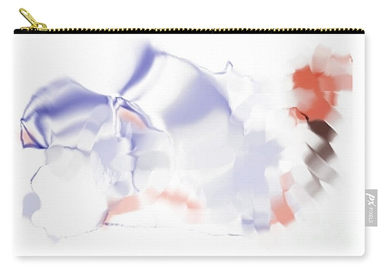 Ethereal Carry-all Pouch featuring the digital art Ethereal by Ron Bissett