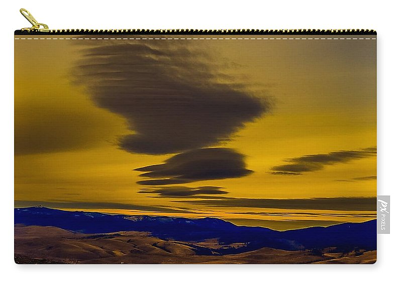 Carry-all Pouch featuring the photograph Euphoric Elation by Dan Hassett