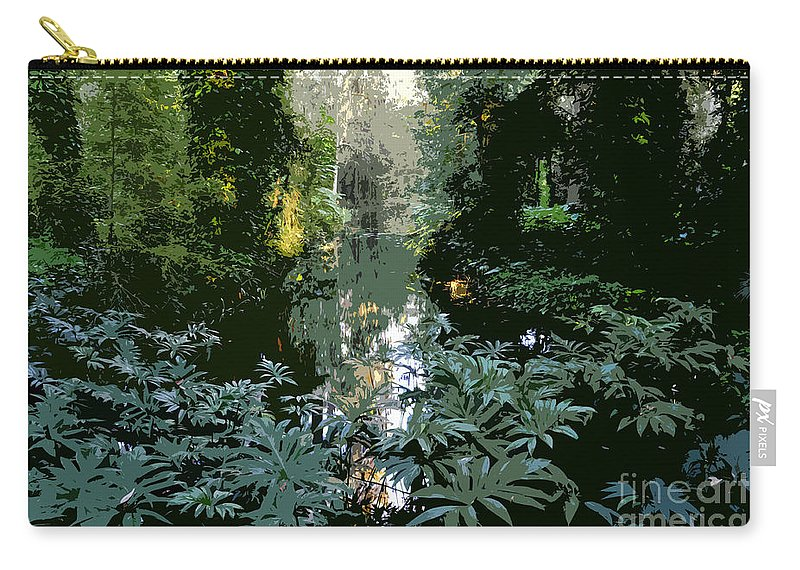 Spring Carry-all Pouch featuring the painting Eureka Springs by David Lee Thompson