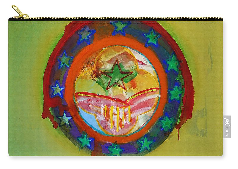 Carry-all Pouch featuring the painting European Union by Charles Stuart