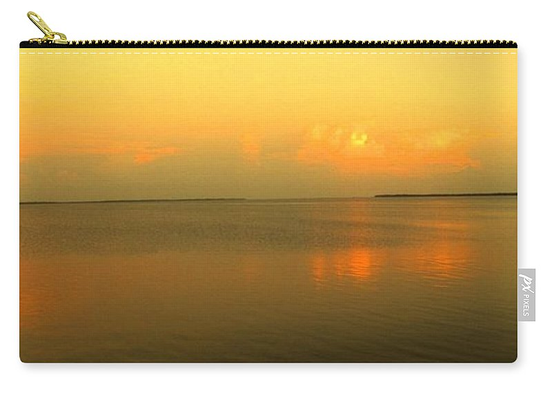 Florida Carry-all Pouch featuring the photograph Evening Shades by Ian MacDonald