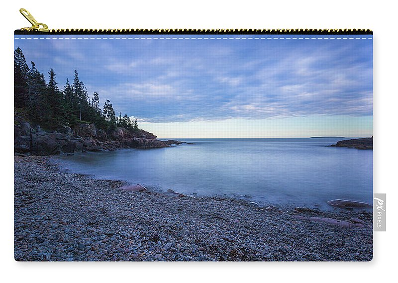 Acadia Carry-all Pouch featuring the photograph Evening Shadows by Arti Panchal
