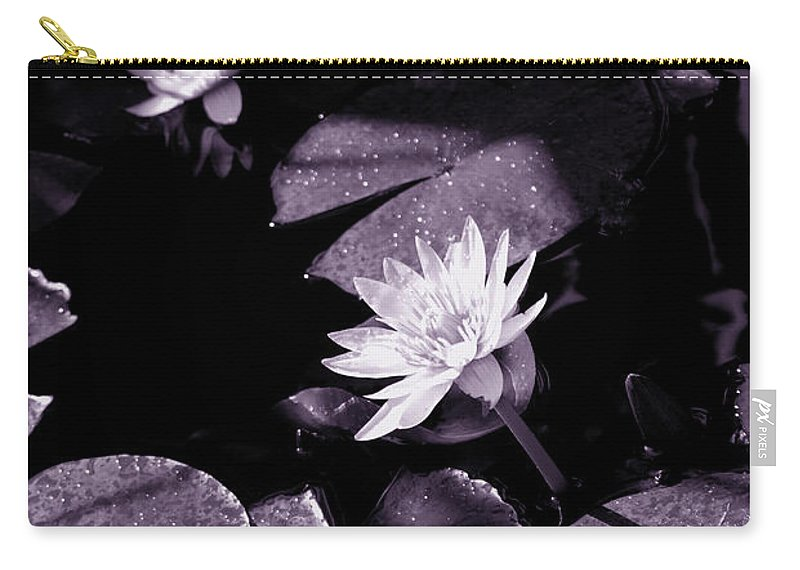Flower Carry-all Pouch featuring the photograph Evening Sun Light by Susanne Van Hulst