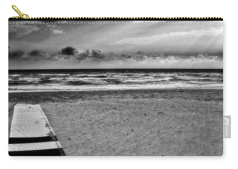 Landscape Carry-all Pouch featuring the photograph Evening Tide by Silvia Ganora