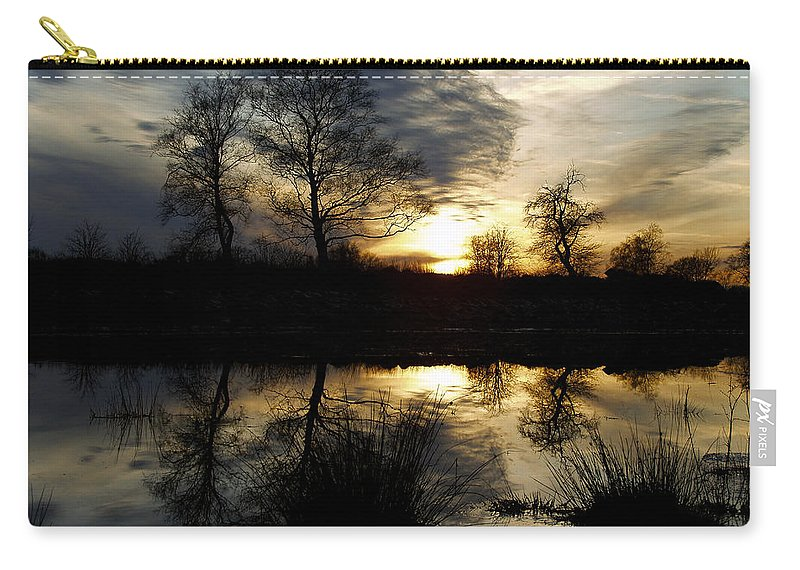 Everglade Carry-all Pouch featuring the photograph Everglade View by Joachim G Pinkawa