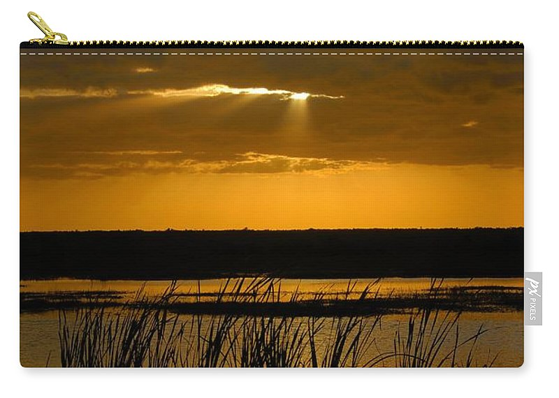 Everglades National Park Florida Carry-all Pouch featuring the photograph Everglades Evening by David Lee Thompson