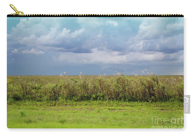 Everglades Carry-all Pouch featuring the photograph Everglades by Jost Houk