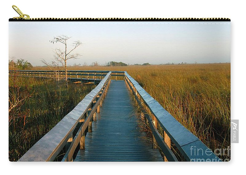 Everglades National Park Florida Carry-all Pouch featuring the photograph Everglades National Park by David Lee Thompson