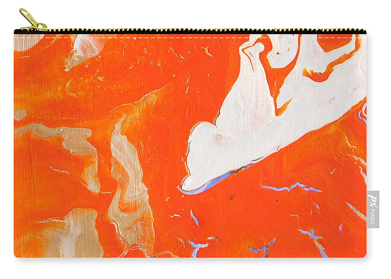 Fusionart Carry-all Pouch featuring the painting Evidence Of Angels by Ralph White