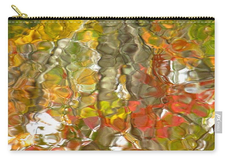Water Art Carry-all Pouch featuring the photograph Evidence Of Joy - Feel by Sybil Staples