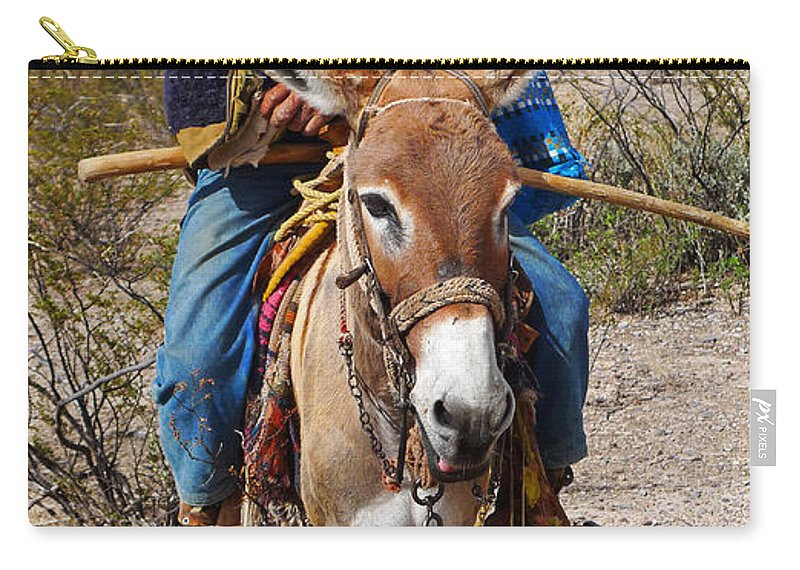 Skip Hunt Carry-all Pouch featuring the photograph Evuli by Skip Hunt