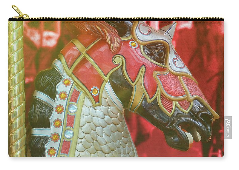Horse Carry-all Pouch featuring the photograph Excalibur by JAMART Photography