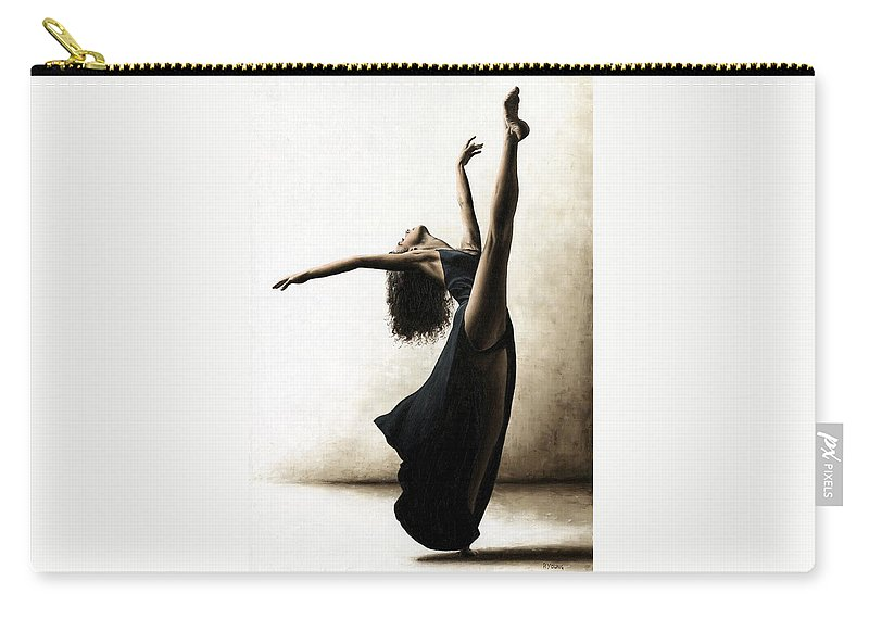 Dance Carry-all Pouch featuring the painting Exclusivity by Richard Young