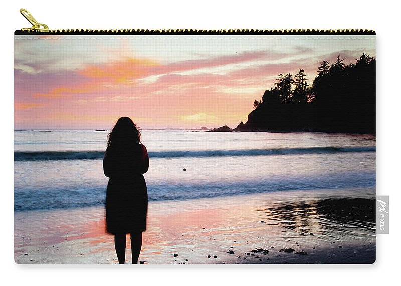 Carry-all Pouch featuring the photograph Explore by Jade Woods