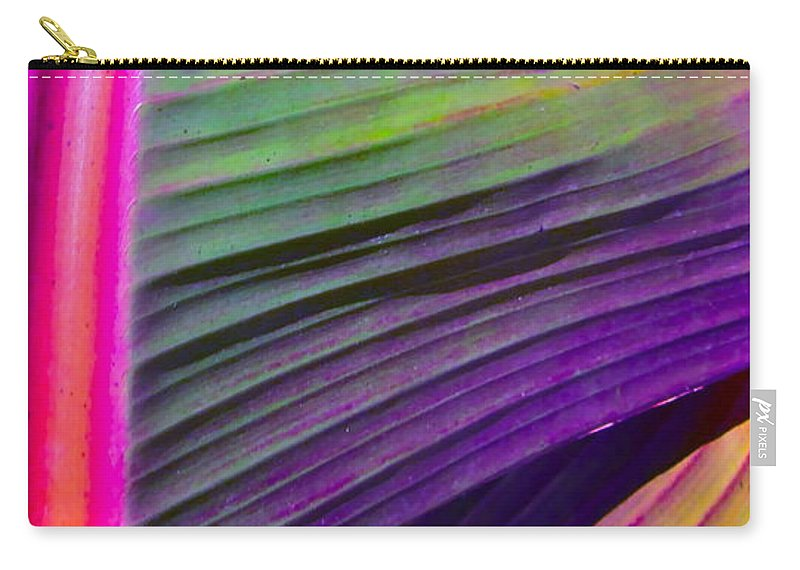 Photograph Of Leaf Carry-all Pouch featuring the photograph Exposed by Gwyn Newcombe