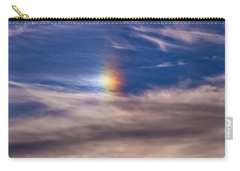 Landscape Carry-all Pouch featuring the digital art Eye In The Sky by Chris Flees