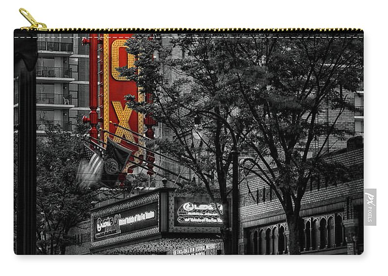 Fox Theater Carry-all Pouch featuring the photograph Fabulous Fox Theater by Doug Sturgess