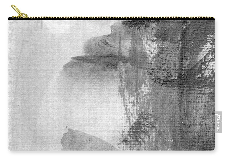 Abstract Carry-all Pouch featuring the photograph Face by Skip Nall