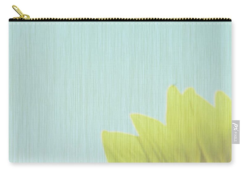 Sunflowers Carry-all Pouch featuring the photograph Faded by Amanda Barcon
