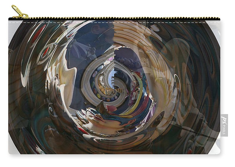 Women Lady Girl World Space Portal Relm Escape Abstract Carry-all Pouch featuring the photograph Faded Lady by Andrea Lawrence