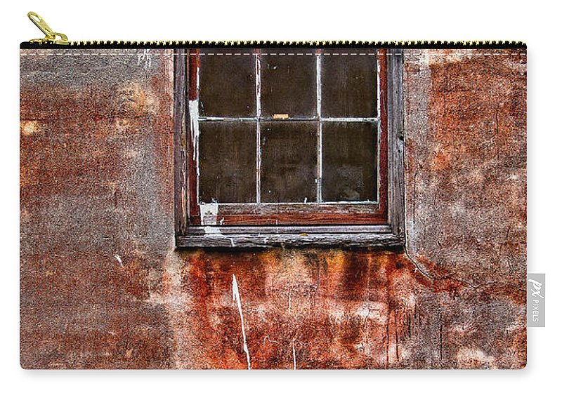 Window Carry-all Pouch featuring the photograph Faded Over TIme by Christopher Holmes