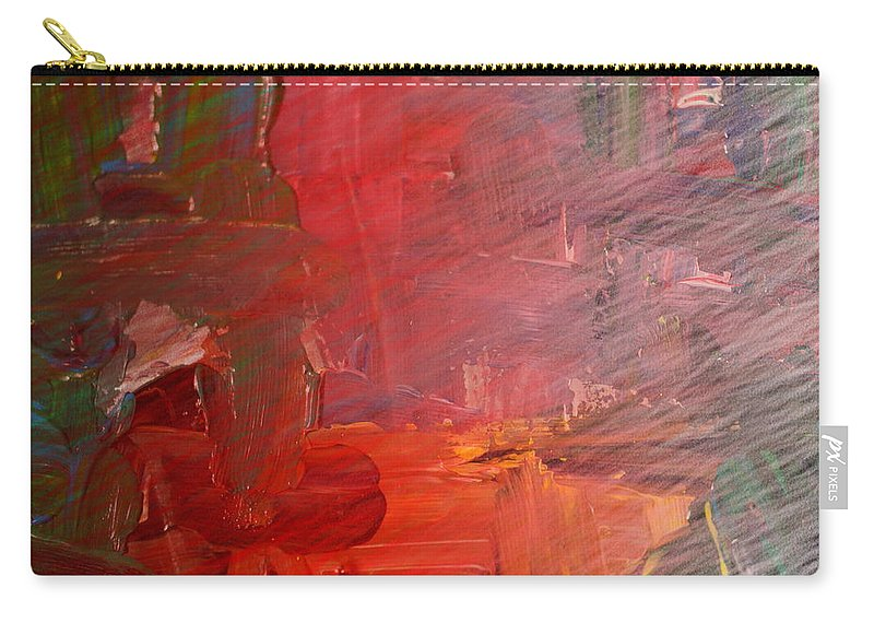 Abstract Carry-all Pouch featuring the photograph Faded Shadows by Jeff Swan
