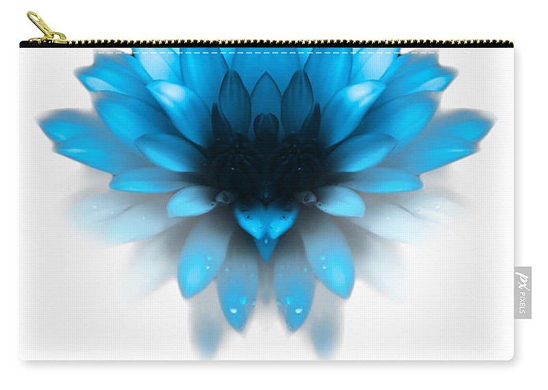 Fading Carry-all Pouch featuring the photograph Fading Blues by Heather Joyce Morrill