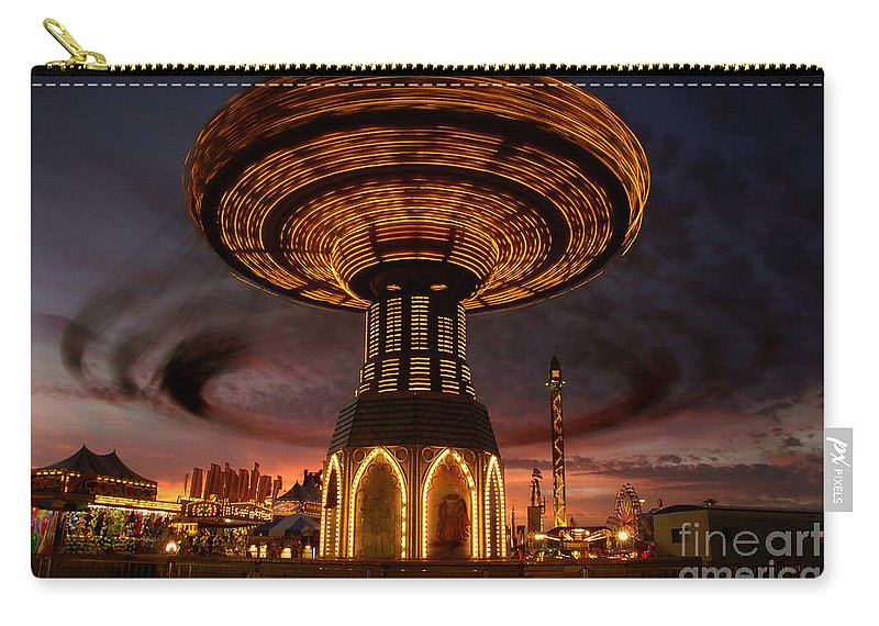 Fair Carry-all Pouch featuring the photograph Fair Fun by David Lee Thompson