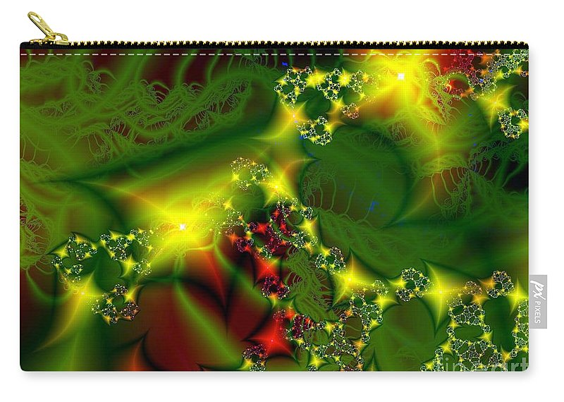 Fairies Carry-all Pouch featuring the digital art Fairy Light by Ron Bissett