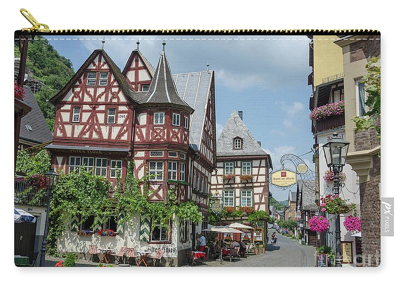 Bacharach Carry-all Pouch featuring the photograph Fairytale Town 02 by Peng Shi