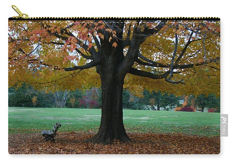 Maymont Carry-all Pouch featuring the photograph Fall At Maymont by Tina Meador