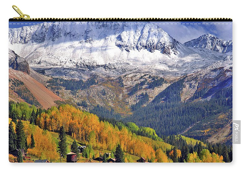 Fall Carry-all Pouch featuring the photograph Fall Beauty by Scott Mahon