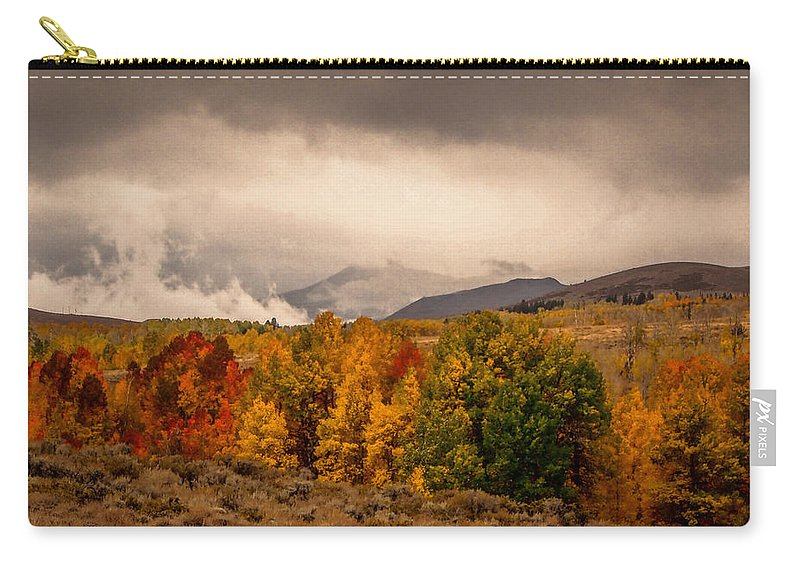 Lee Vining Carry-all Pouch featuring the photograph Fall Colors by Michele James