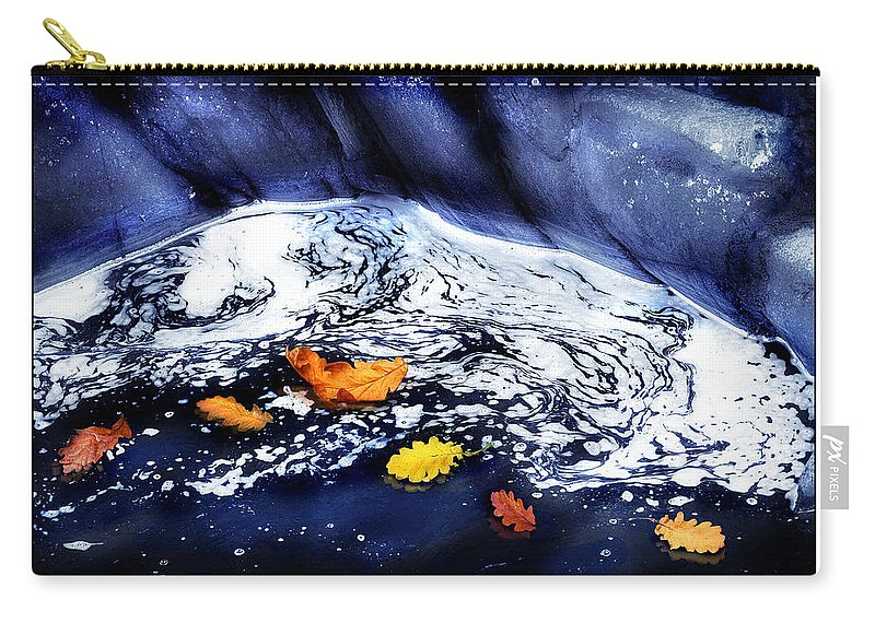 Fall Carry-all Pouch featuring the photograph Fall Flotilla by Mal Bray