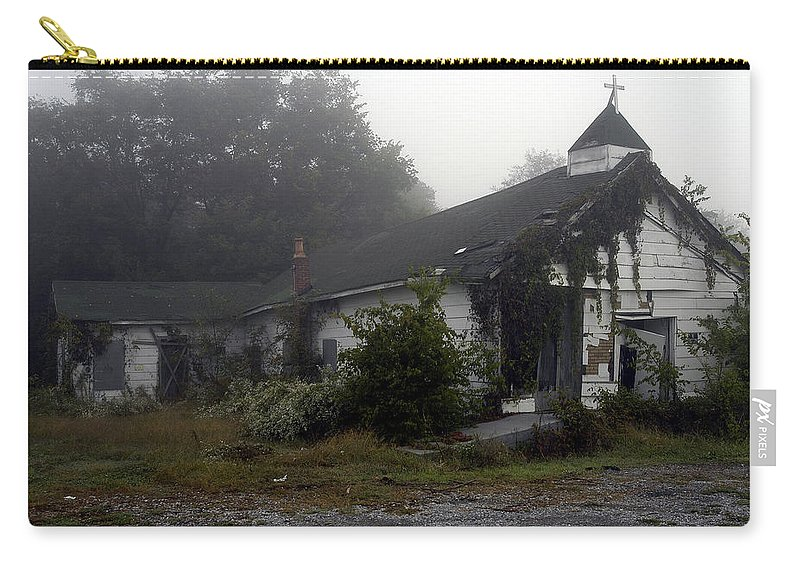 Church Carry-all Pouch featuring the photograph Fall From Grace by D'Arcy Evans