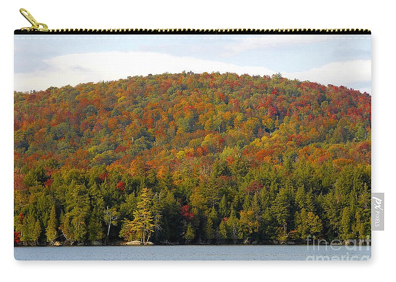 Fall Carry-all Pouch featuring the photograph Fall Island by David Lee Thompson